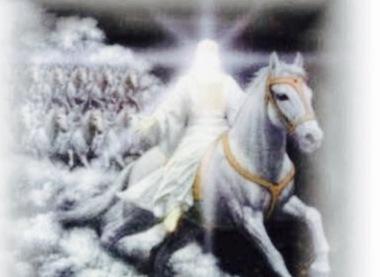 jesus white horse